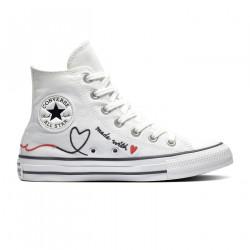 CONVERSE, Chuck taylor all star hi, Vintage white/egret/black