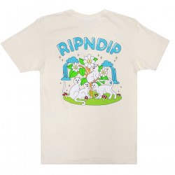 RIPNDIP, Magical place tee, Natural