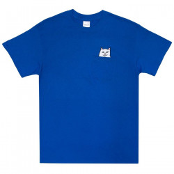 RIPNDIP, Lord nermal pocket tee, Royal blue