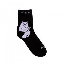 RIPNDIP, Lord nermal mid socks, Black