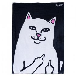 RIPNDIP, Lord nermal throw blanket, Black