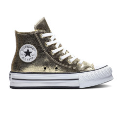 CONVERSE, Chuck taylor all star eva lift hi, Gold/white/black