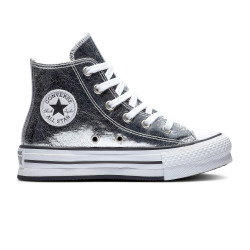 CONVERSE, Chuck taylor all star eva lift hi, Grey/white/black
