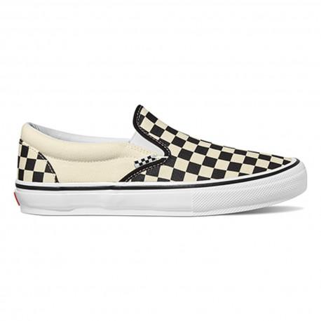 Skate slip-on - (checkerboard) black/off