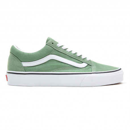 Old skool - Shale green/true white