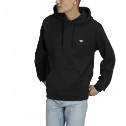 ADIDAS, Heavyweight shmoofoil hoodie, Black/white