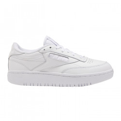 REEBOK, Club c double, White/white/cold grey 2