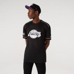 NEW ERA, Nba team logo oversized tee loslak, Blk
