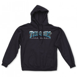 THRASHER, Sweat ice hood, Black