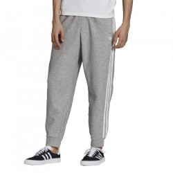 ADIDAS, Boucle sst track pant, Medium grey heather/white