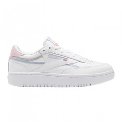 REEBOK, Club c double, Ftwr white/cold grey 2/orange flare