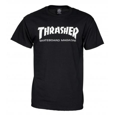 T shirt skate mag - Black