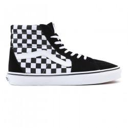 VANS, Sk8-hi, (checkerboard) blk/tr wht