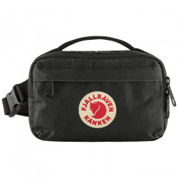FJALL RAVEN, Kanken hip pack, Black