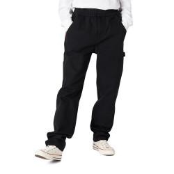 CONVERSE, Easy waist carpenter pant, Black