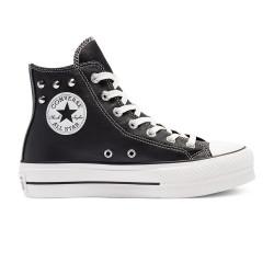 CONVERSE, Chuck taylor all star lift hi, Black/white/black