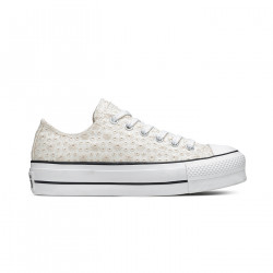 CONVERSE, Chuck taylor all star lift ox, Vintage white/egret/black