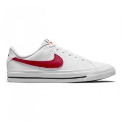 NIKE, Nike court legacy, White/university red-black