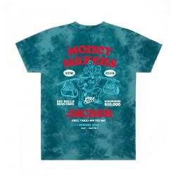 JACKER, Money makers, Teal tie dye