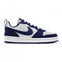 NIKE, Nike court borough low 2, White/blue void-signal blue