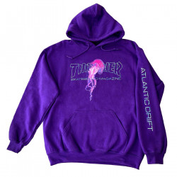 THRASHER, Sweat atlantic drift hood, Purple