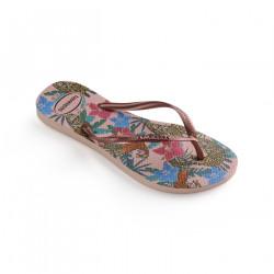 HAVAIANAS, Slim tropical, Ballet rose/pink retro metallic