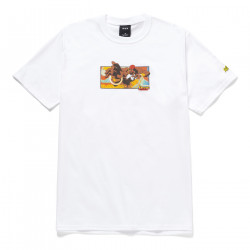HUF, T-shirt dhalsim ss, White