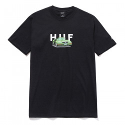 HUF, T-shirt bonus stage ss, Black