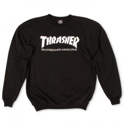 THRASHER, Sweat skate mag, Black