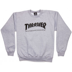 THRASHER, Sweat skate mag, Grey