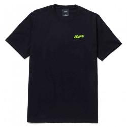 HUF, T-shirt i feels good ss, Black