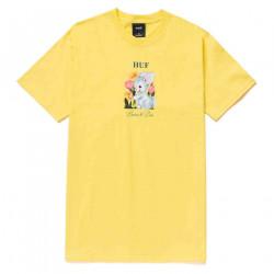 HUF, T-shirt born to die ss, Yellow