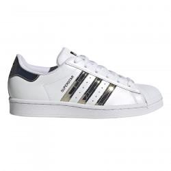 ADIDAS, Superstar w, Ftwr white/silver met./core black