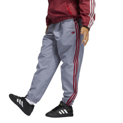 ADIDAS, Sst track pant, Grey/white/team victory red