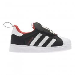 ADIDAS, Superstar 360 i, Core black/ftwr white/vivid red