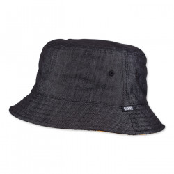 DJINNS, Bucket hat luckycat linen , Black