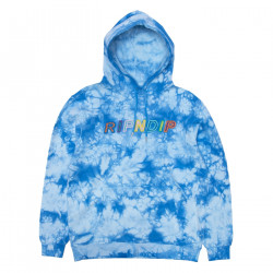 RIPNDIP, Prisma hoodie, Blue lightning wash