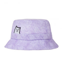 RIPNDIP, Lord nermal bucket hat, Purple mineral wash