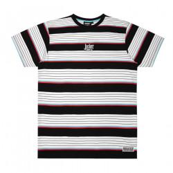 JACKER, Retro stripes, Black/white