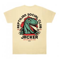 JACKER, Reptilian, Beige
