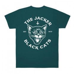 JACKER, Black cats, Dark teal