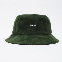 OBEY, Bold cord bucket hat, Emerald green