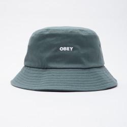 OBEY, Bold twill bucket hat, Leaf