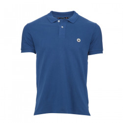 JUST OVER THE TOP, Cherbourg polo basique mc, Dark denim