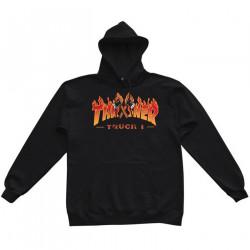 THRASHER, Sweat truck hood, Black