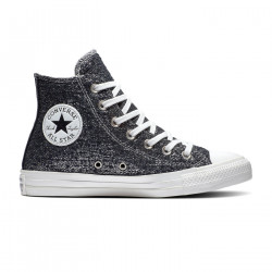 CONVERSE, Chuck taylor all star hi, Black/silver/white