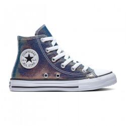 CONVERSE, Chuckaylor all star hi, Teal/purple/black/white