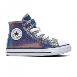 CONVERSE, Chuckaylor all star 1v hi, Teal/purple/black/white