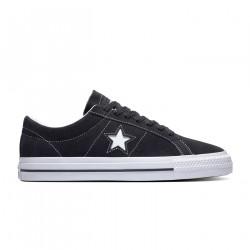 CONVERSE, One star pro ox, Black/black/white