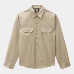 DICKIES, Long sleeve work shirt, Khaki